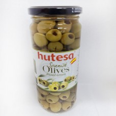 Olives pitted