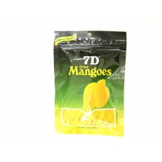 7 D - dried mangoes